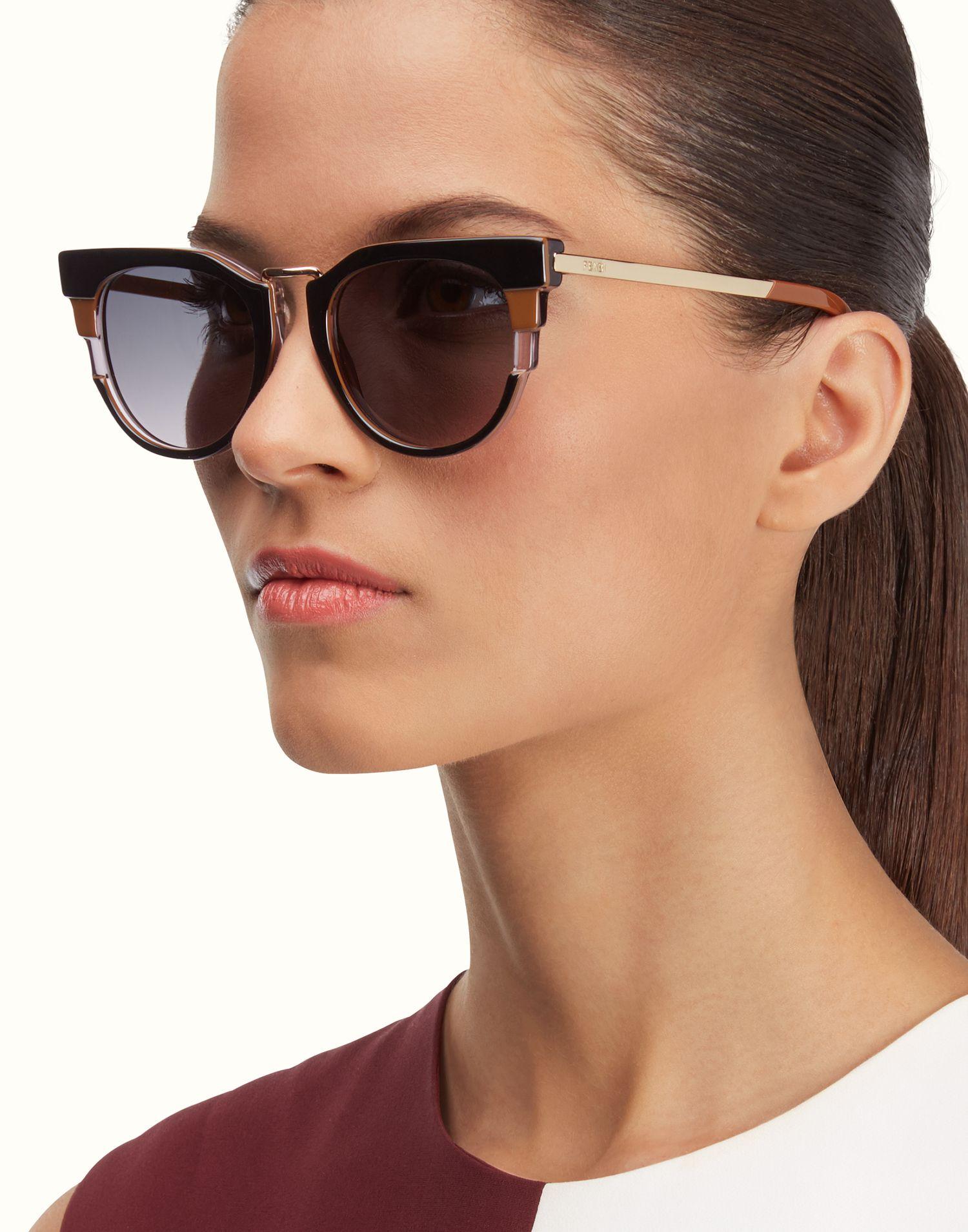 FENDI | METROPOLIS Tricolour sunglasses | Fendi sunglasses ...