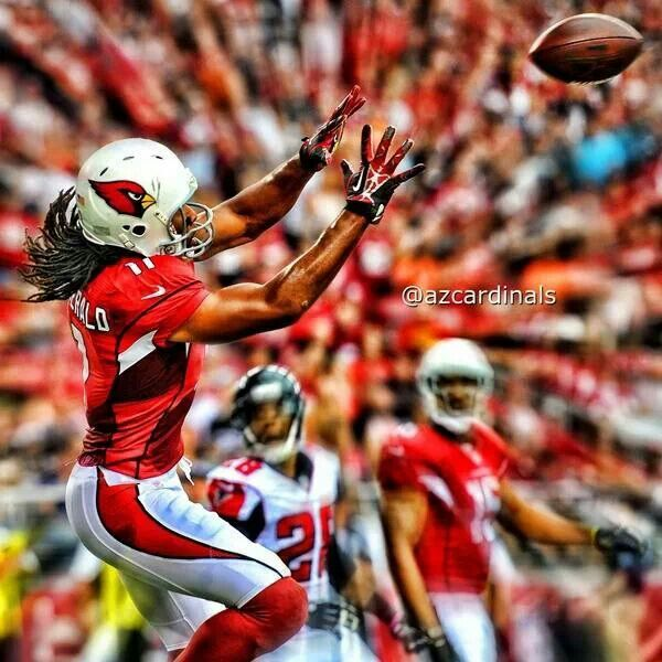 Larry Fitzgerald #11 on the field, #1 to his fans!
