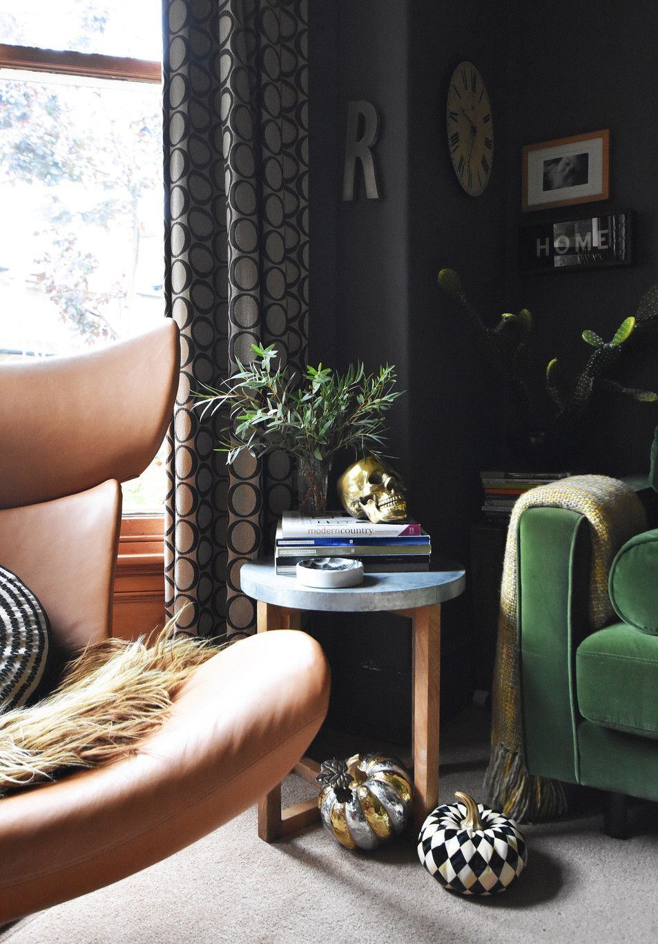 The Girl With The Green Sofa Gothic Living Room Dream Living