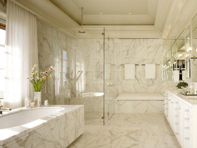Small Bathroom Design Marble 27 exquisite marble bathroom design ideas | bathroom designs