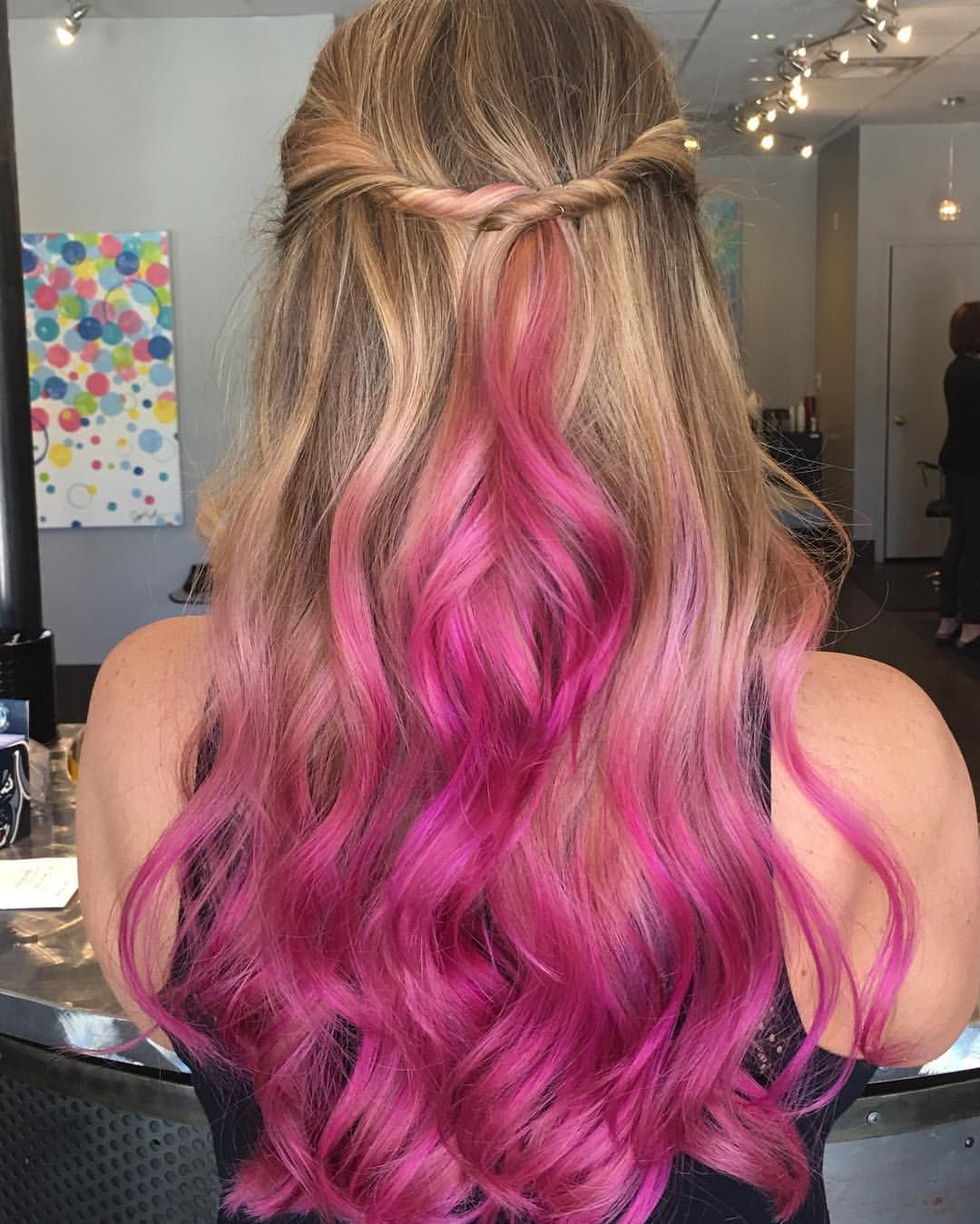 Fabulous pink hair this is going to be my good to summer color