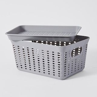 Small Weave Basket With Images Basket Storage Baskets