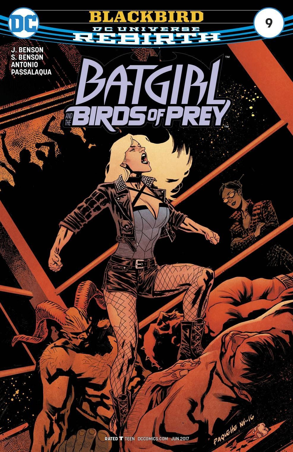 BATGIRL AND THE BIRDS OF PREY 9 (2017) Black canary