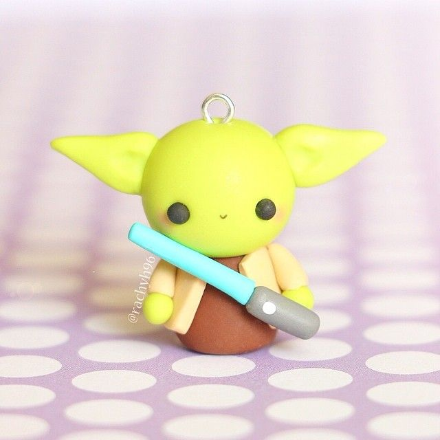 Maitre Yoda Fimo Pinterest Polymer Clay Clay Et Clay Crafts