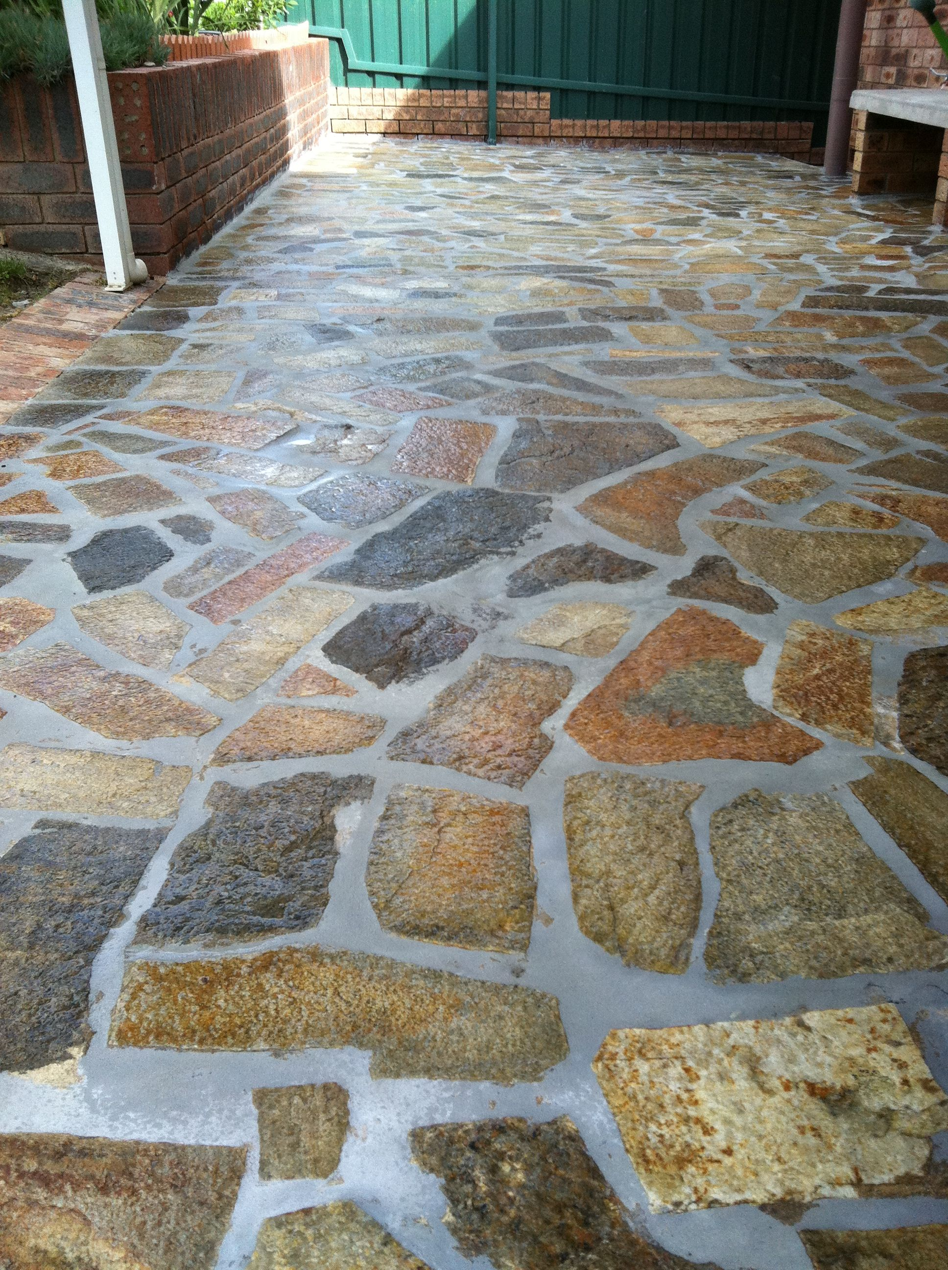 Paving Design: Stone Flagging. Www.pavingcanberra.com Paving Repair: Remove  And Replace Concrete Mortar Joints. Paving Repair: Stone Enhanced And  Sealed.