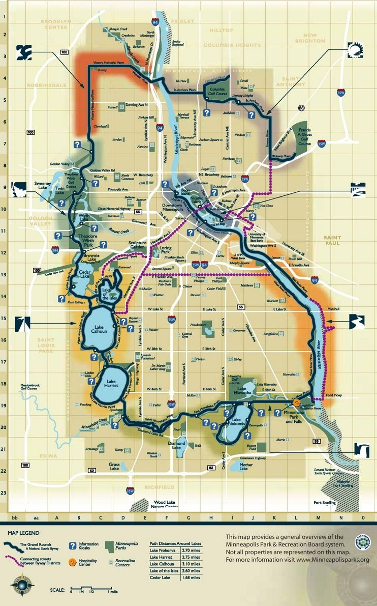 Minneapolis Park Map Maps Pinterest Minneapolis Usa Cities - Map of usa with cities
