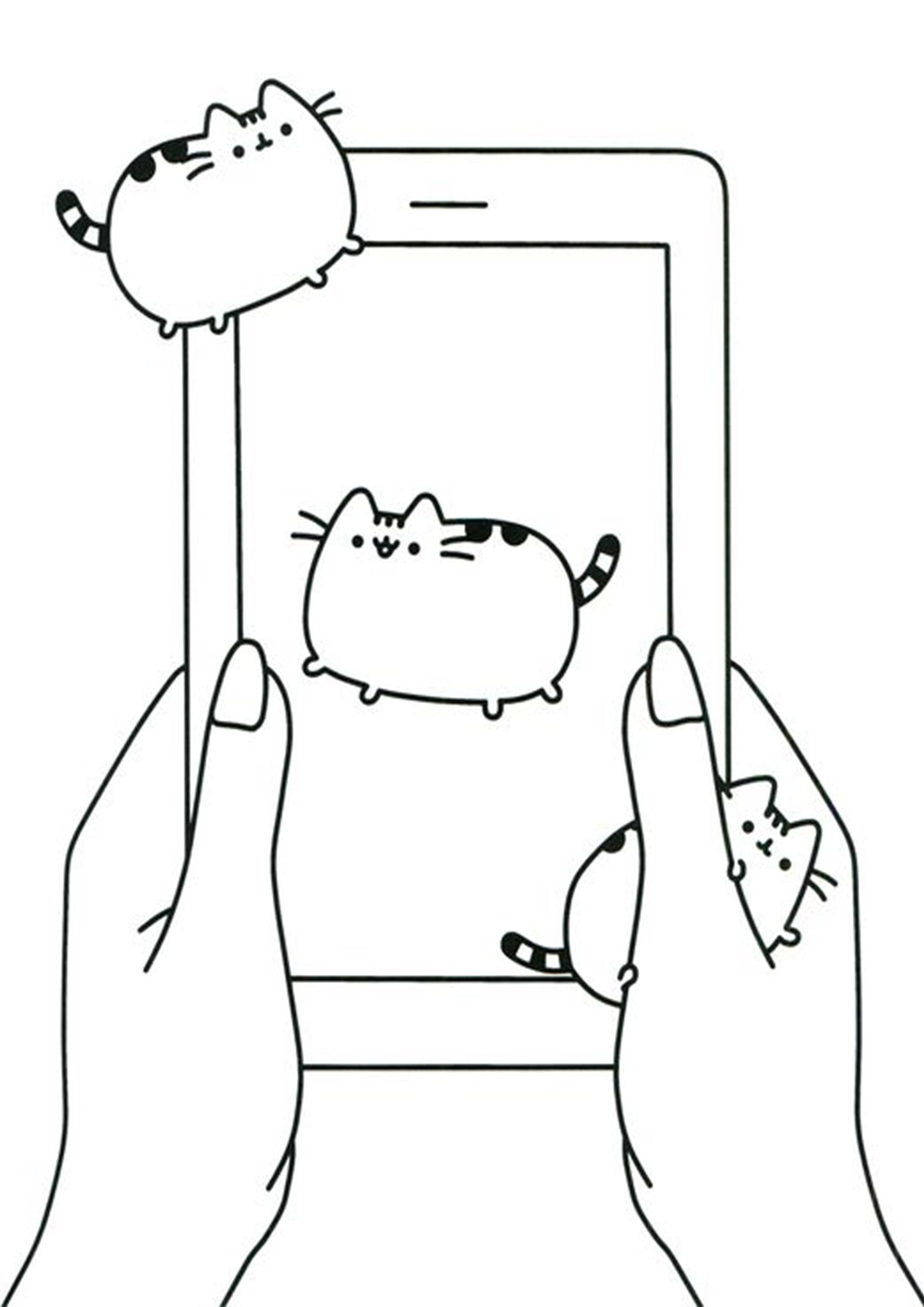 Free Easy To Print Pusheen Coloring Pages Pusheen Coloring Pages Coloring Pages Pusheen