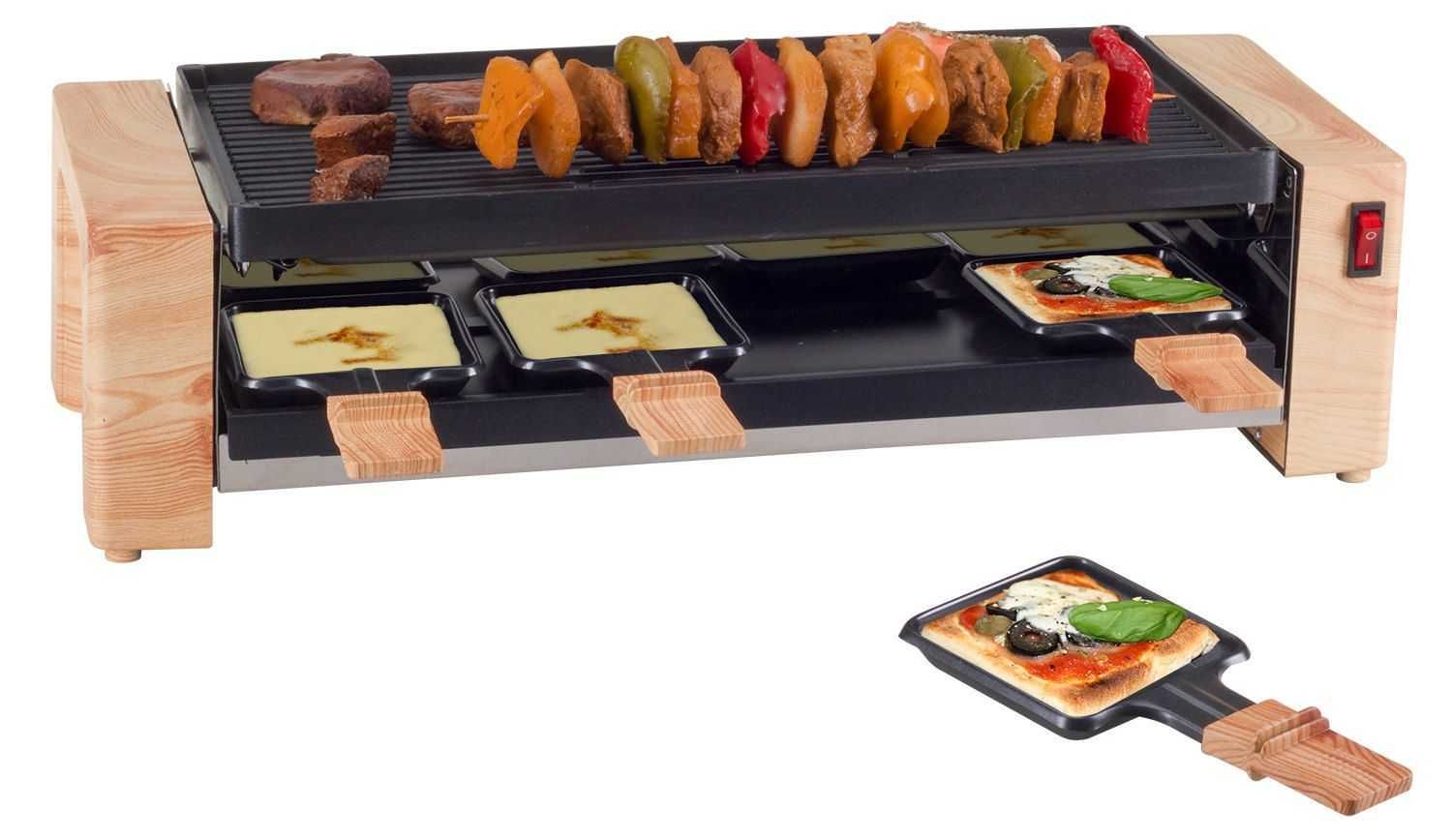 Nouvel Pizza Grill Wood Grill And Pizza 8 Personen Gunstig Kaufen Raclette Grill Nouvel 402320 F Xfc R Holzgrill Raclette Ofen Grillen