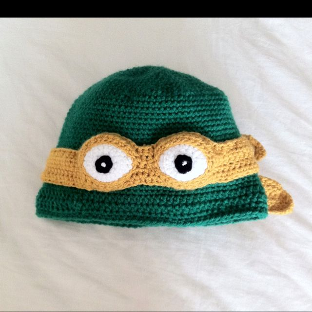 Crochet Pattern For A Turtle Hat : Crochet Pattern For Teenage Mutant Turtle Hat For Free ...