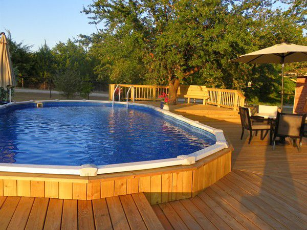 Photo Gallery in 2019 | Doughboy pool, Above ground pool ...