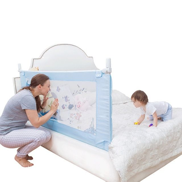 KOOLDOO Bed safety Fence Baby Anti Fall Protection Fence Baby Bed ...