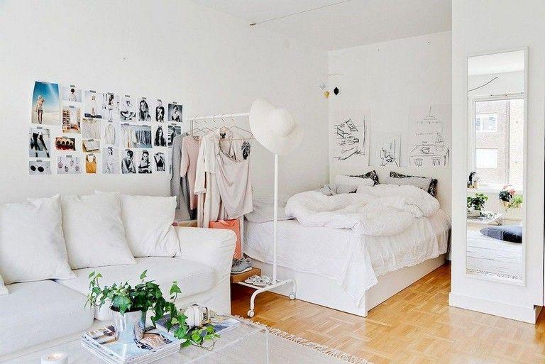 60 Space Saving Small Studio Decoration Ideas Small Apartment