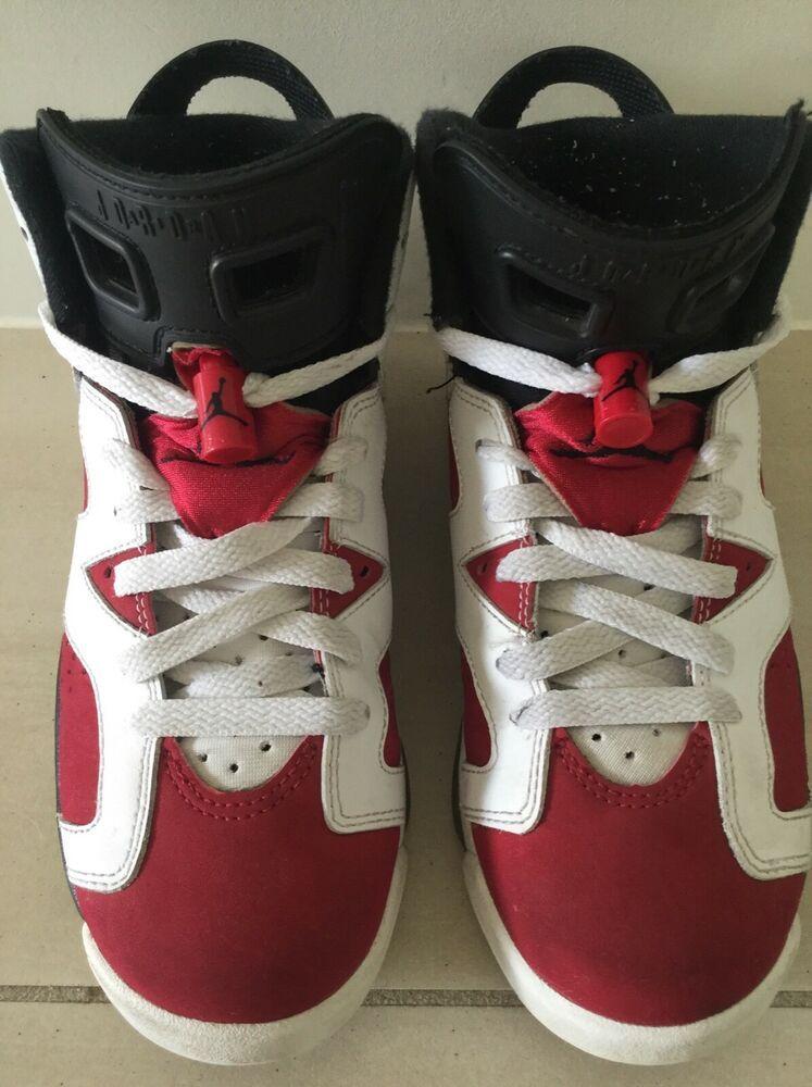 low priced ee6ae aa1a3 Rare Nike Air Jordan 6 Mens Sneakers 384665160 Size US 5Y  Nike   BasketballShoes