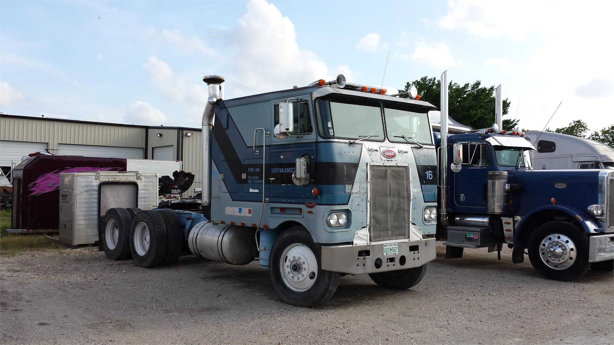 1980 peterbilt 352h heavy duty trucks cabover trucks w sleeper for sale at truckpaper