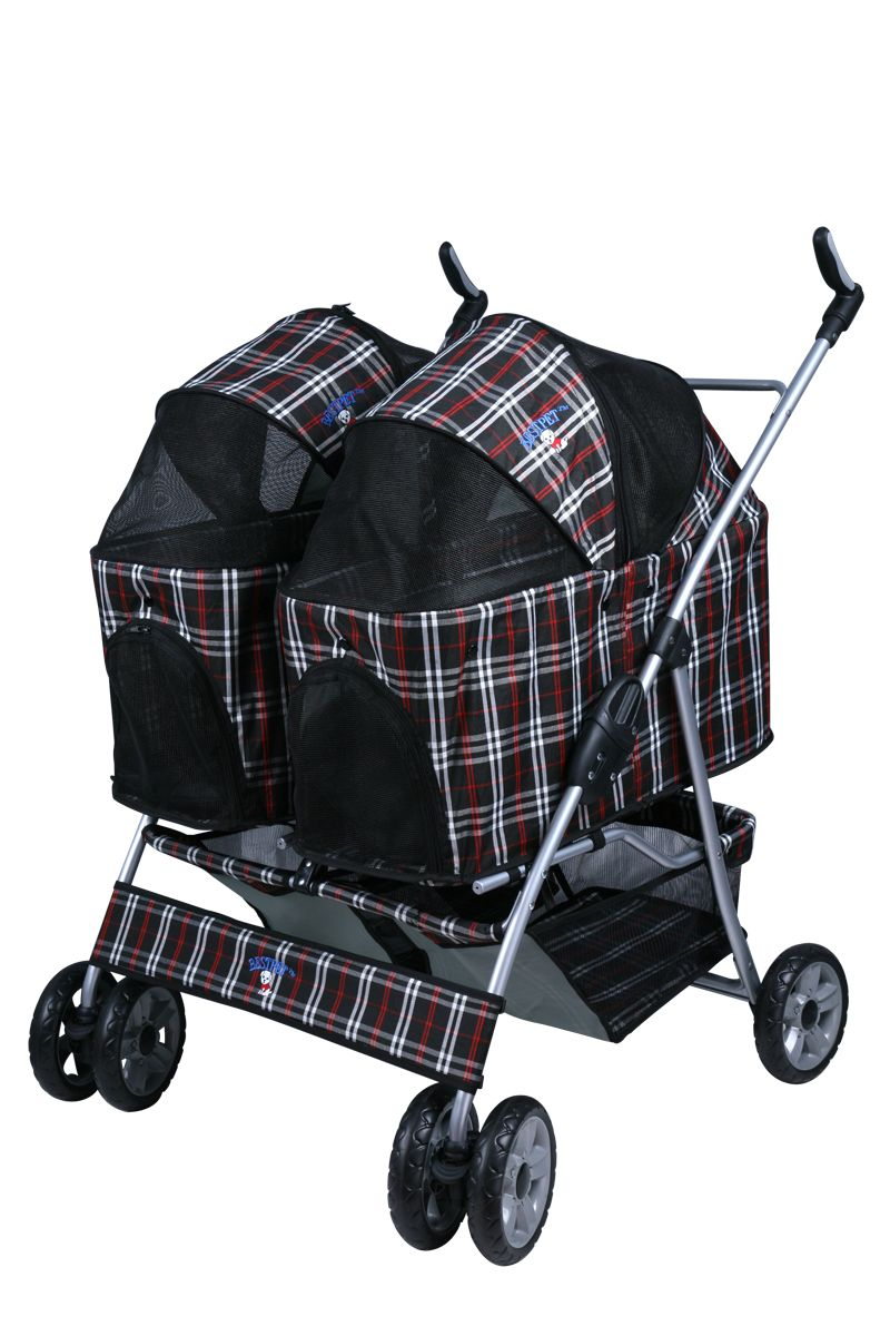 Double Dog Stroller Animals Dogs And Puppies Dog