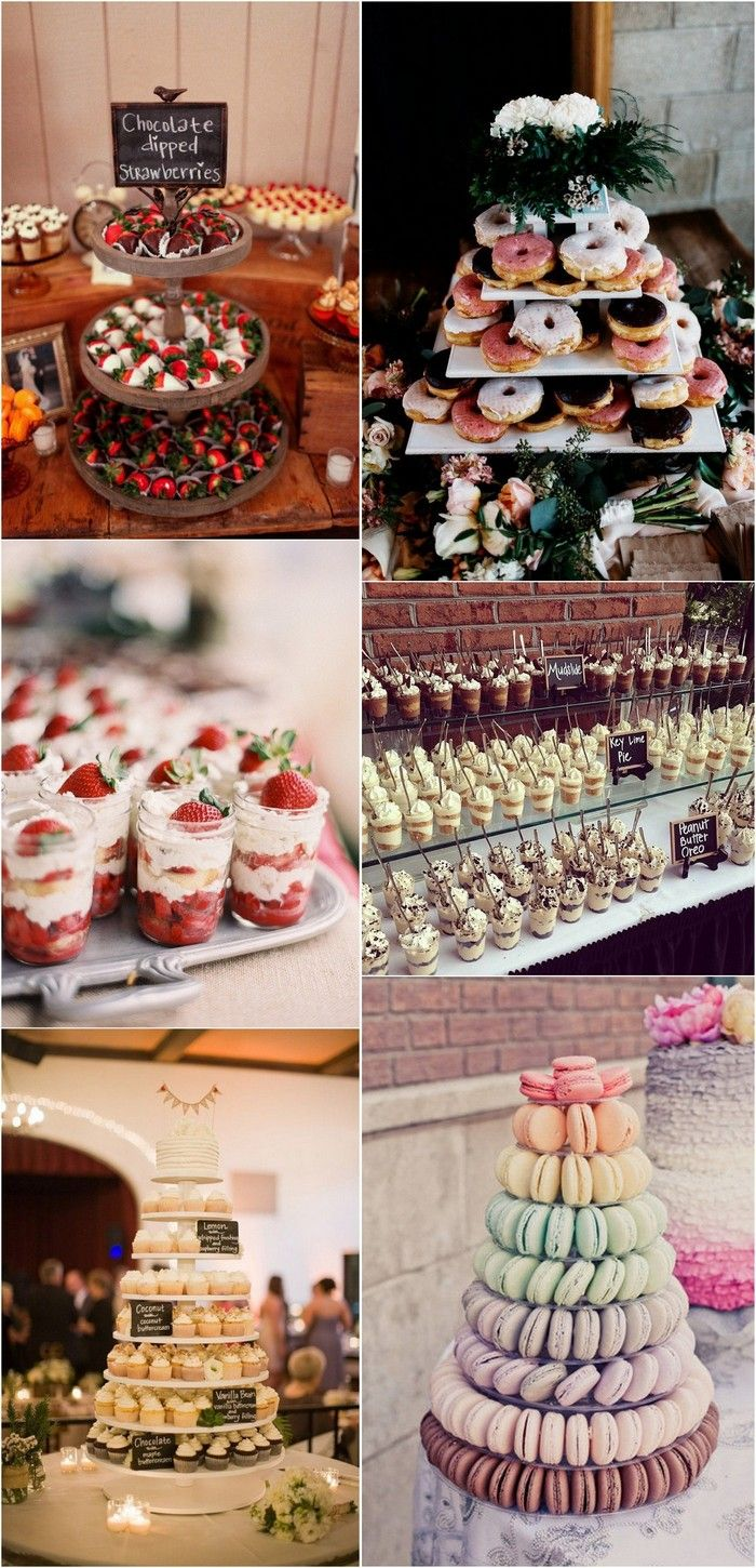 15 Sweet Wedding Dessert Ideas Your Guests Will Love | Weddingideas ...