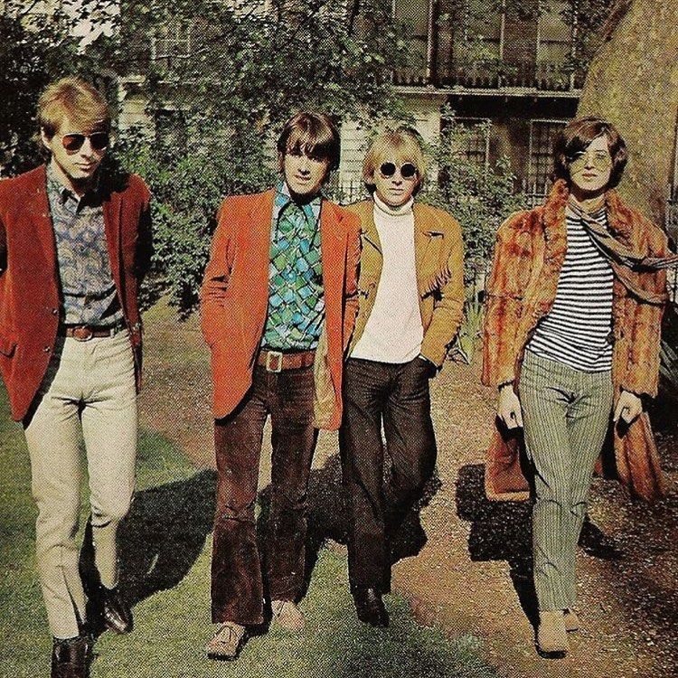 60s music 60s_guys_neck_scarves on Instagram: The Yardbirds . via daily60s