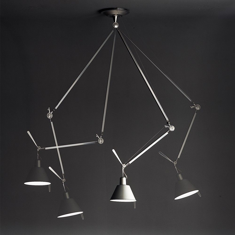 Artemide Tolomeo Off Center Suspension Lamp Suspension Light Light Suspension Lamp