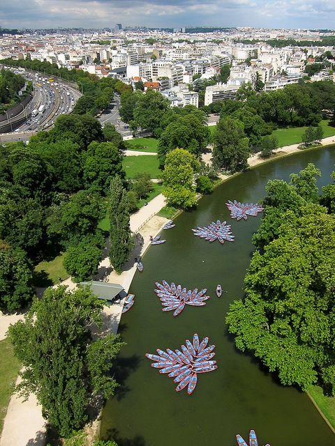 Lac Daumesnil In Bois De Vincennes Park Paris Avec Images