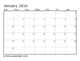 download 2016 printable calendar free printables pinterest
