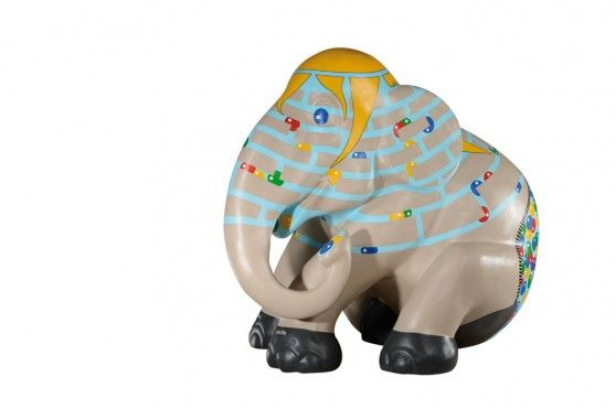 Building[s] - elemental giants by Tina Biewer, Trier-Luxembourg Elephant Parade