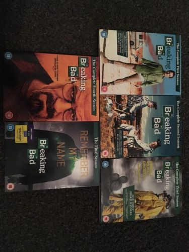 #Breaking bad #seasons 1-5 #complete set dvds (18 discs),  View more on the LINK: http://www.zeppy.io/product/gb/2/142152131881/