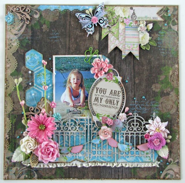 Blue fern studios May challenge layout