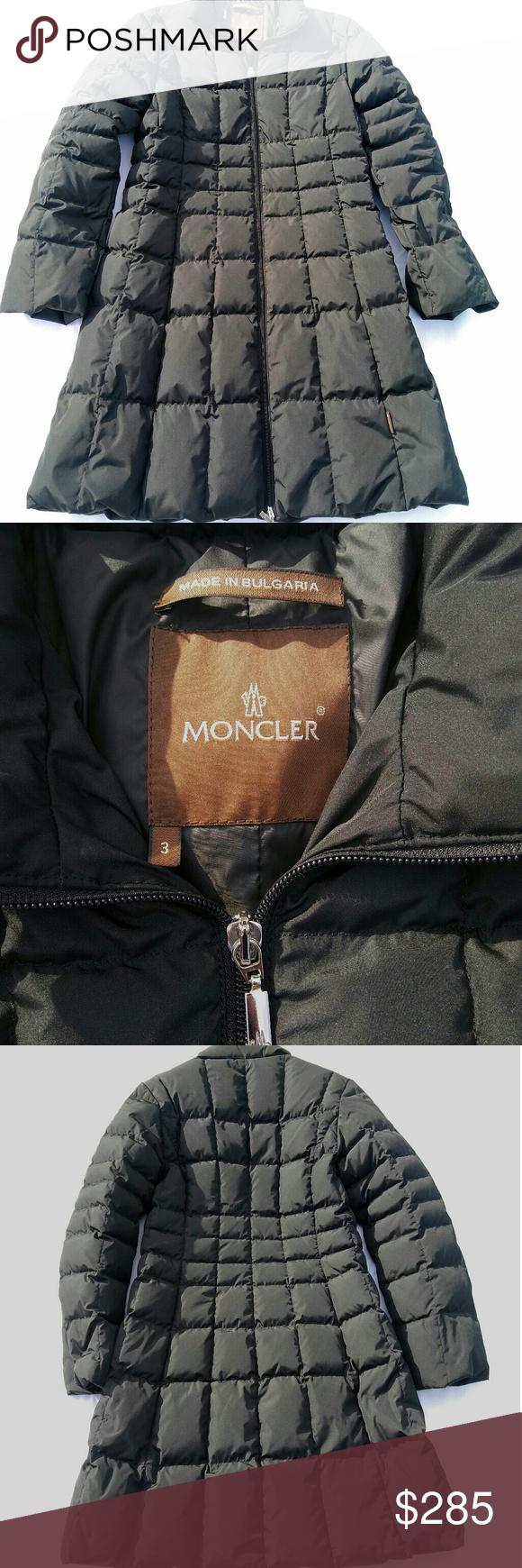 moncler brown label