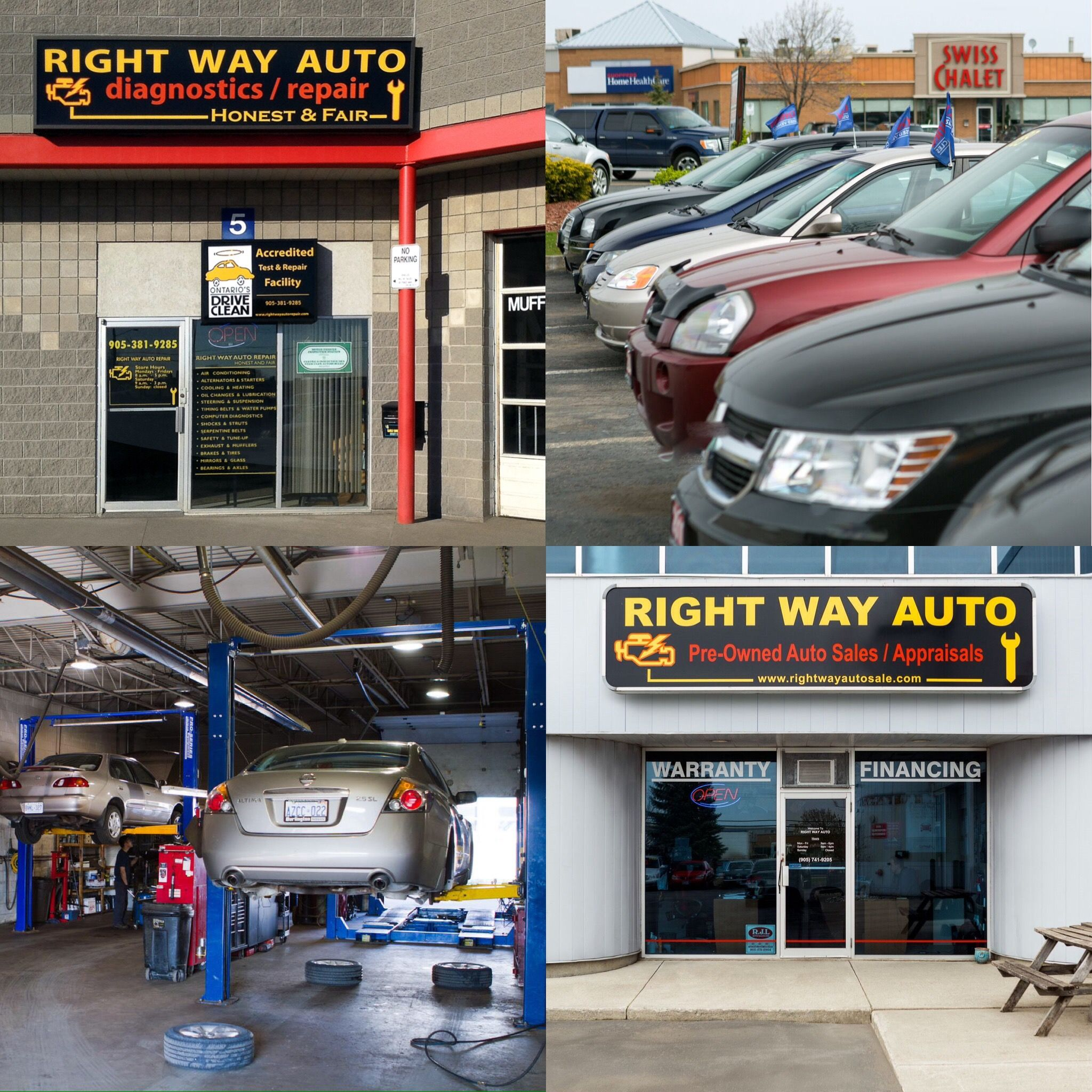 A clean shop is a safe shop Auto Repair Waiting Area