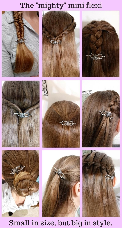 Newest Charming Women Accessories Hair Tools Hair Clips Braid Hair Ornament