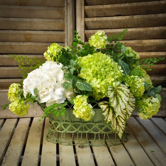 Permanent Flower Garden : Best hydrangea arrangements ideas on pinterest