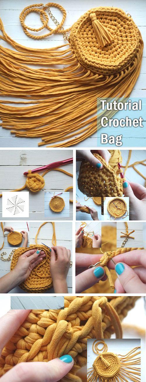 Crochet Handbag Tutorial