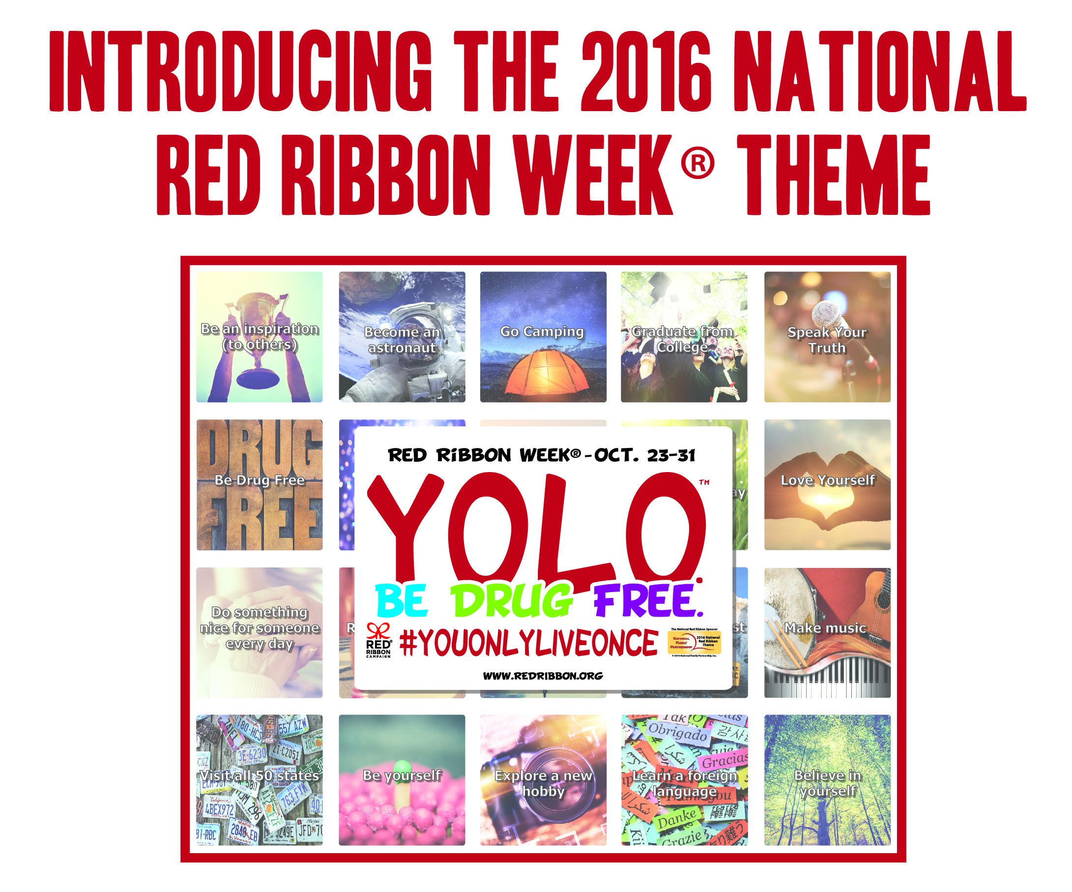 Red Ribbon Campaign 2016 Theme Announcement! Red ribbon