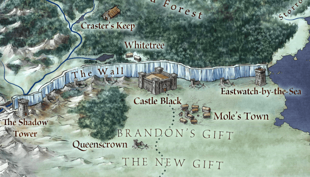 Game of map thrones the gift Interactive Game