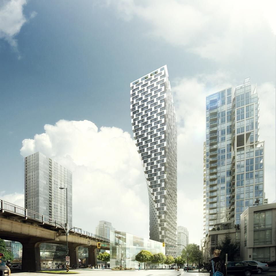 Beach and Howe Tower, Vancouver. BIG. | ✐ Architecture | Sketches ...