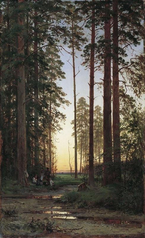Edge of the Forest - Ivan Shishkin - WikiArt.org
