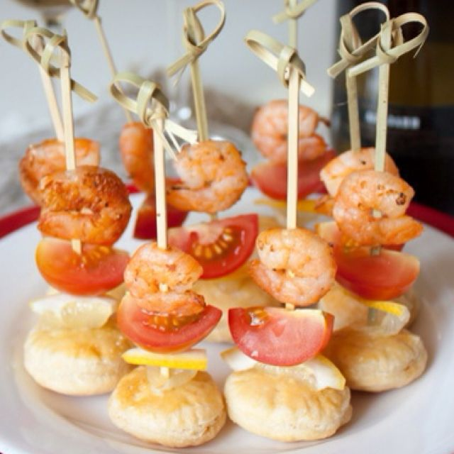 oh my.  shrimp appetizers.