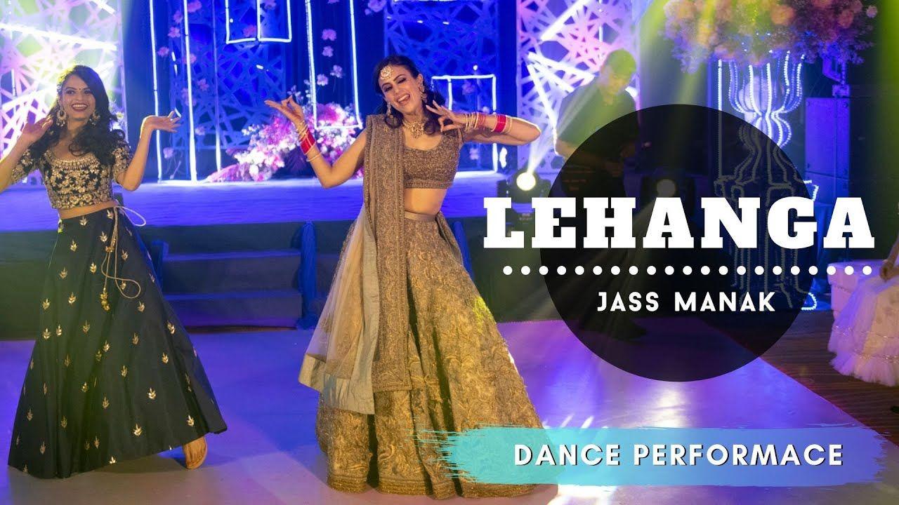 Lehanga Sangeet IndianWedding Dance Performance in
