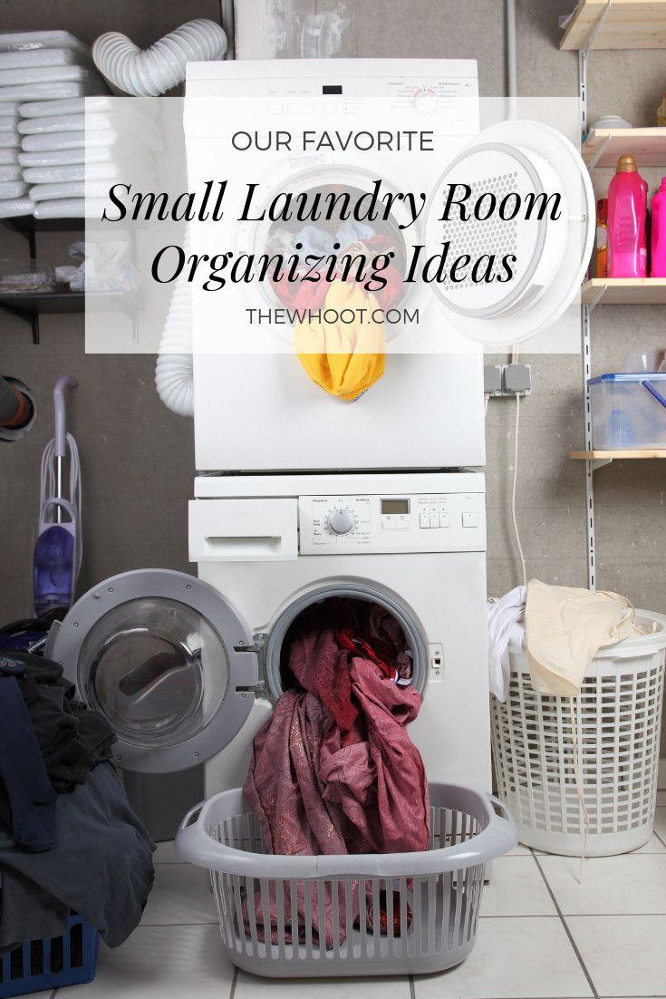 Small Laundry Room Organization Ideas Pinterest Best  Kleine