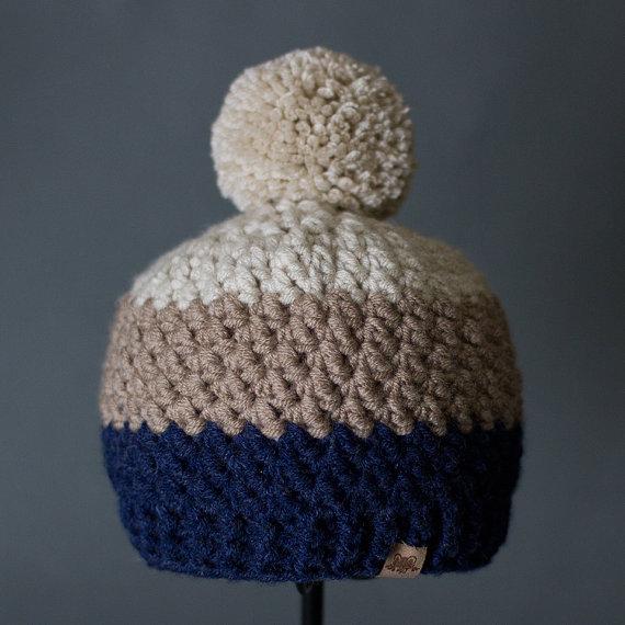 Crochet PATTERN Rainer Beanie Crochet Hat Pattern Includes 6 Sizes for  Babies df57e66010f