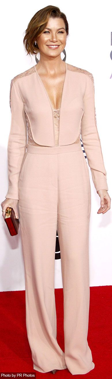 Ellen Pompeo Wearing Elie Saab Jumpsuit | Elie Saab | Pinterest ...