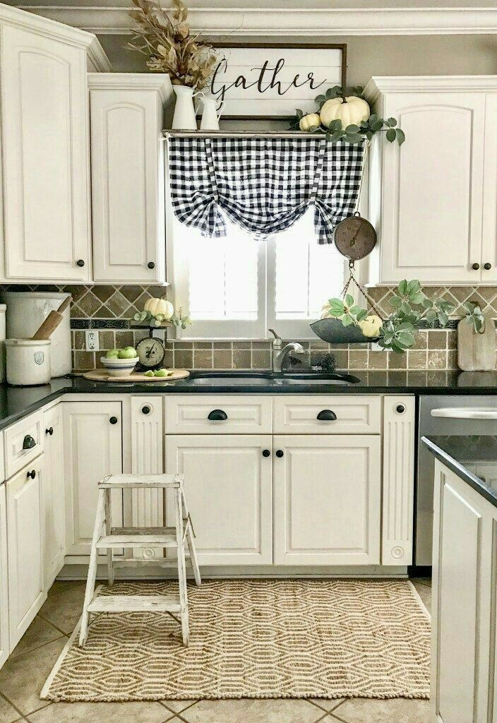 cream colored cabinets and dark counter tops ill do dark cement counter tops farmhouse on farmhouse kitchen curtains id=13757