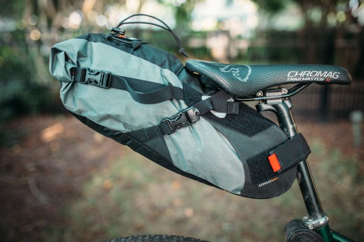 Bedrock Coconino with RailWing - Bikepacking Seat Pack