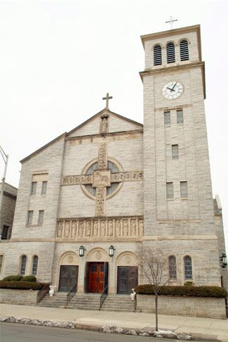 New Jersey   Mary of the Assumption Catholic Cathedral in Trenton, NJ - From your Trinity Stores crew.