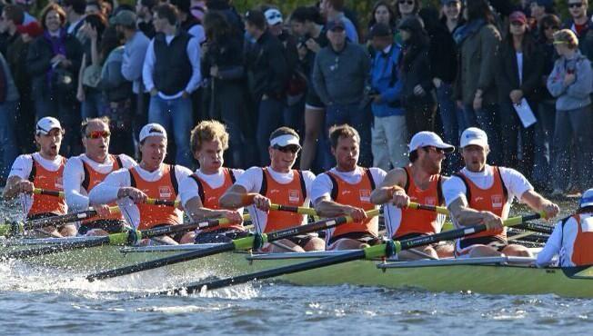 Flying Dutchmen in action. Men's Championship 8+ Winners!
