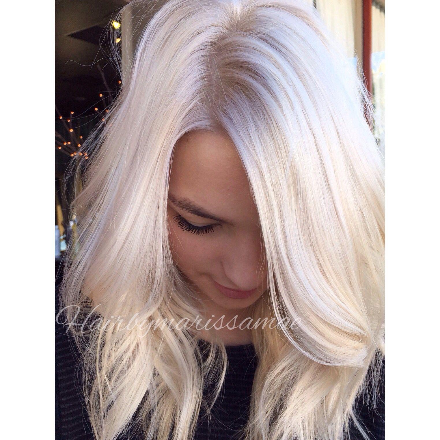 ice white blonde
