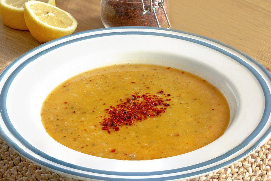 Ezogelin çorbasının tarifi