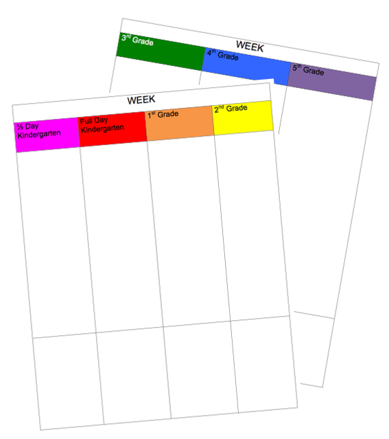 Download A Digital Lesson Plan Template  Flexible Scheduling