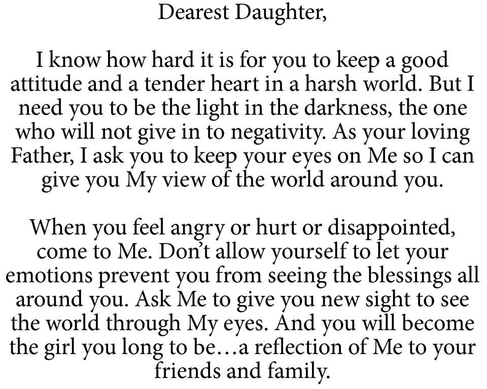 Dearest daughter pinterest bible princess and verses a letter from god to his daughters altavistaventures Choice Image