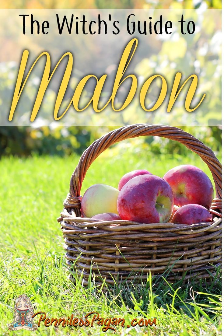 The Witch's Guide to Mabon #maboncelebration